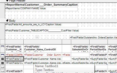 Walkthrough: Redesigning a Customer - Order Summary Report